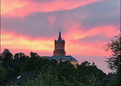 Ausblick auf die Schwanenburg