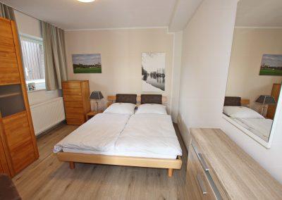 Ferienwohnung Kleve Galleien Schlafzimmer