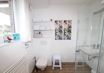 Ferienwohnung Kleve Burggarten Badezimmer