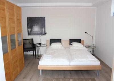 Ferienwohnung Kleve Burggarten Schlafzimmer
